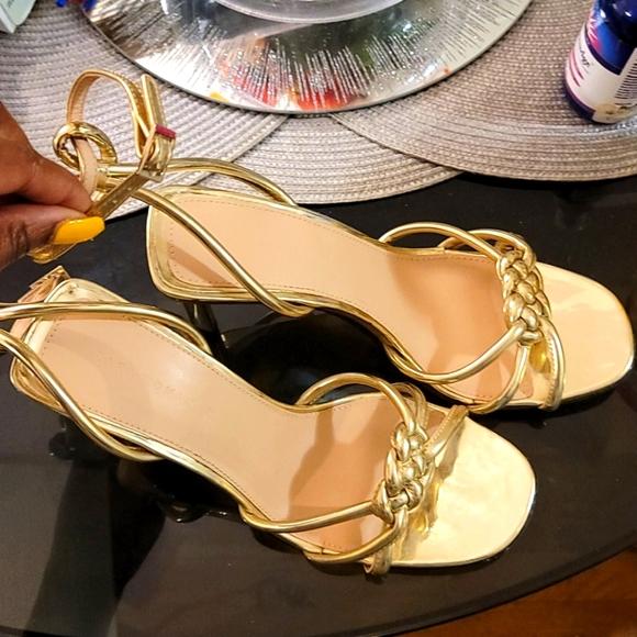 Zara braided sandal